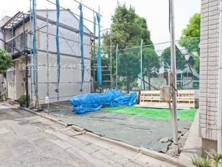 東京都大田区大森北6丁目 建築条件付土地 外観です。