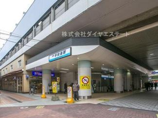 東京都大田区大森北6丁目 建築条件付土地 最寄り駅の平和島駅です。徒歩約3分です。