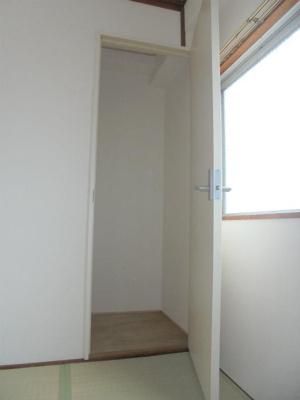 和室4.5畳 収納