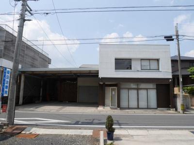 【外観】安岡町貸店舗