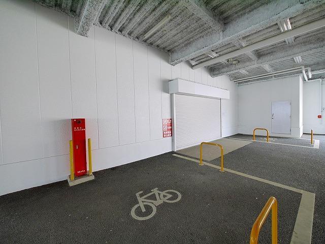 駐輪場付き