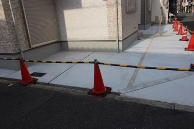 便利な駐車場付き