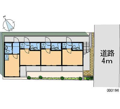【地図】高井戸