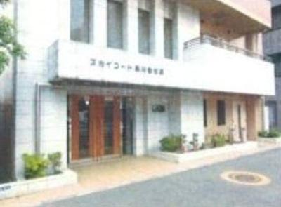 【エントランス】スカイコート品川仙台坂