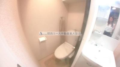 【トイレ】ラグゼ布施北Ⅱ