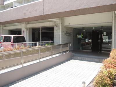 【エントランス】横浜根岸ダイヤモンドマンション