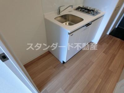 【キッチン】プレサンス大阪ゲートシティ