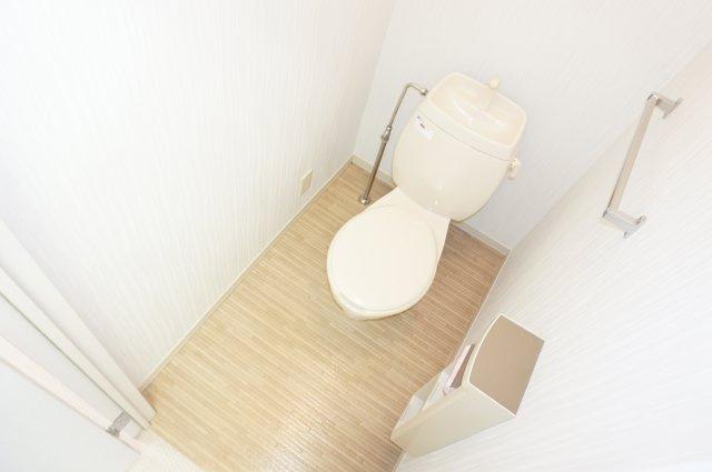 【トイレ】ゆかりハイツA棟