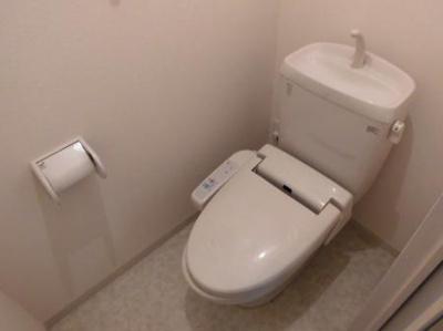 シャルドネB棟のトイレ