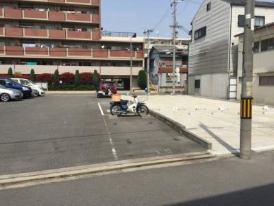 【駐車場】白鳥パーキング