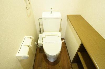 パールハイツ蘇我Ⅰのトイレ
