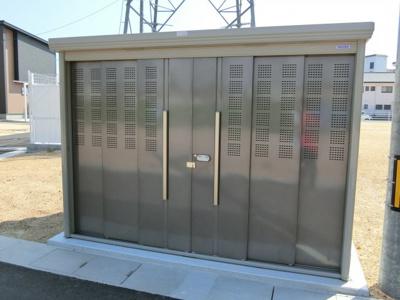分譲地内鉄塔 中電の地役権の設定あり