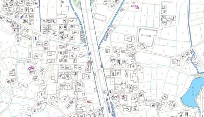 【地図】粒江戸建て