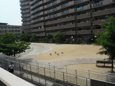 【展望】北花田ガーデンファミリアⅠ番館(五箇荘小学校)