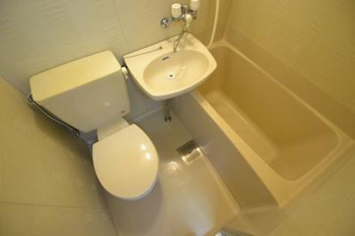 【浴室】魚北第2ハイツ