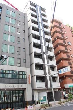 鉄筋コンクリート造のがっちりとしたマンション