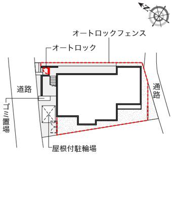 【地図】笹塚南山