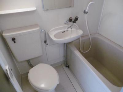 【浴室】プレアール長居公園