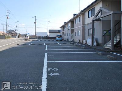 【駐車場】フレグランスAP