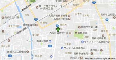 【地図】メゾン東陽 (株)Roots