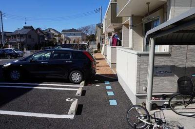 【駐車場】アンソレイユA棟
