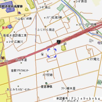 【地図】アスリートA