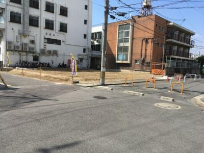 【前面道路含む現地写真】グラッド・タウン北岸和田