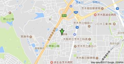 【地図】コーポ春日