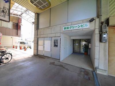 【玄関】駅前グリーンビル