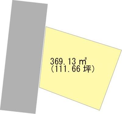 【区画図】【売地】岩出中学校区・120074
