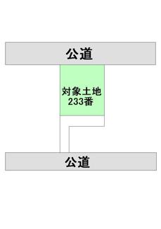 【土地図】成松売地
