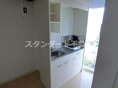 【キッチン】オズレジデンス福島
