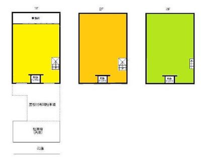 【外観】木津川産業美原倉庫