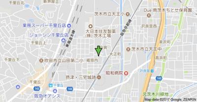 【地図】オークマンション