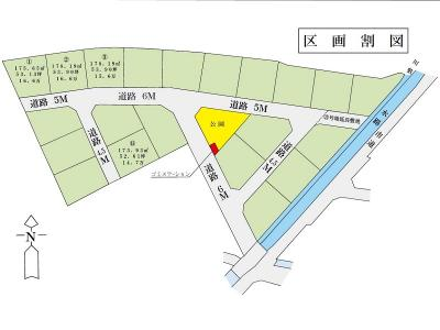 【区画図】土地 玉島阿賀崎 全21区画