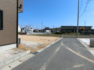 【前面道路含む現地写真】土地 玉島阿賀崎 全21区画