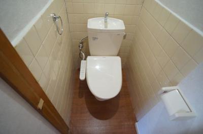 【トイレ】瓜破6丁目車庫付き貸家