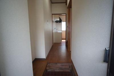 【内装】瓜破6丁目車庫付き貸家