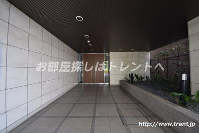 【エントランス】サンウッド文京千駄木フラッツ