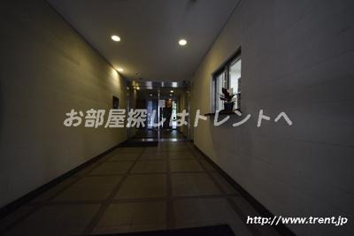 【ロビー】サンウッド文京千駄木フラッツ