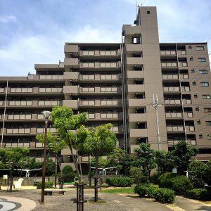 【外観】ファミールハイツ上野芝Ⅰ番館(西百舌鳥小学校)