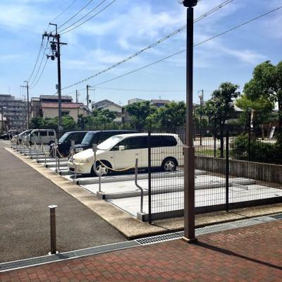 【駐車場】ファミールハイツ上野芝Ⅰ番館(西百舌鳥小学校)