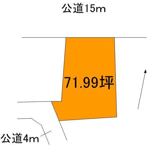 【土地図】大洗町和銅土地