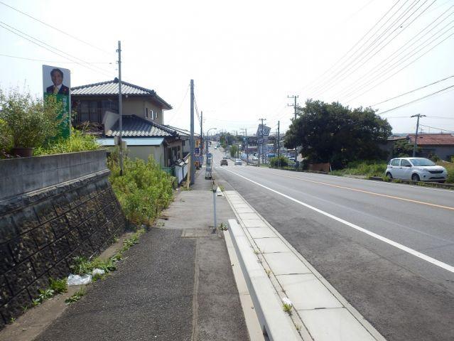 【前面道路含む現地写真】大洗町和銅土地