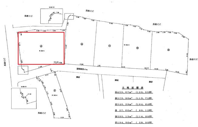 【区画図】芸西村西分甲
