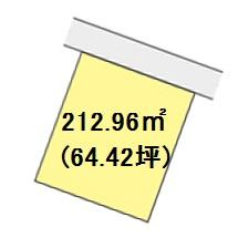【区画図】【売地】西脇中学校区・120101