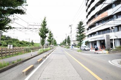 【周辺】MLH藤沢5棟(NO.5)-建築条件無し売地(土地)