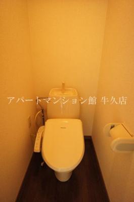 【トイレ】サンアンドムーンⅠ