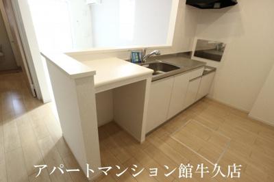 【キッチン】エムズサニーガーデンⅩⅥ