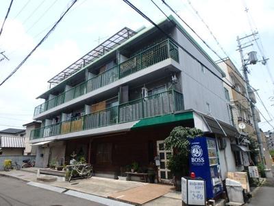 【外観】八戸ノ里グリーンハイツ
